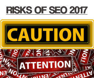 Risks of SEO 2017 - SEO-123.com